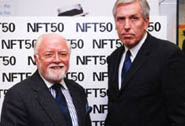 Lord Attenborough, Neil McEwan, Managing Director, Warner Home Video
