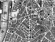 Click on the map to see the London of Chaplin's childhood.