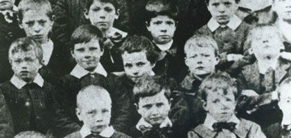 Film still for Down but not out in Victorian London: childhood