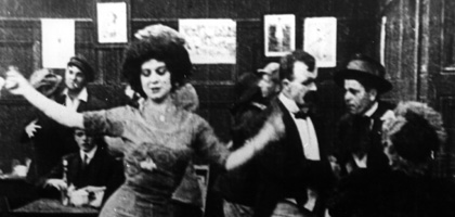 Film still for Caught In A Cabaret