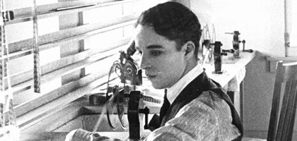 bfi features charlie chaplin researcher s guide bfi  chaplin in his editing room