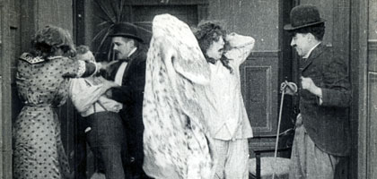 Film still for Mabel's Strange Predicament