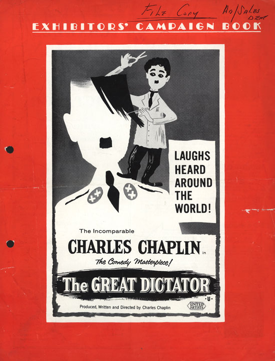 Press Books: The Great Dictator