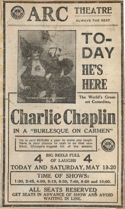 Documents: Charlie Chaplin's Burlesque On Carmen