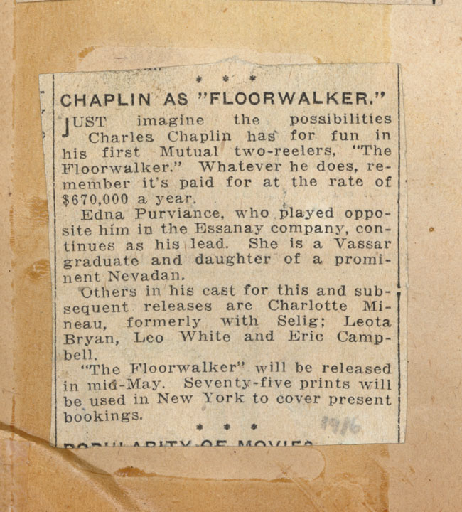 Documents: The Floorwalker
